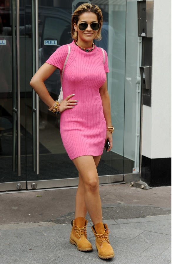Photos Of Rita Ora Celebrity Woman Pink Dress Fav
