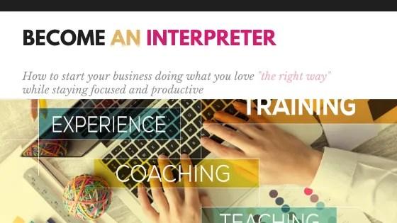start your interpreting career