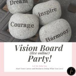 dream-beleive-hustle-achieve-dream-vison-board party