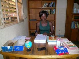 La gérante de la bibliothèque