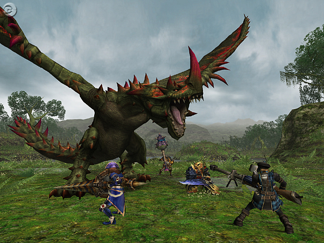 Monster Hunter Freedom Unite Upcoming Demo Favonian Gamers Place For All Gamers