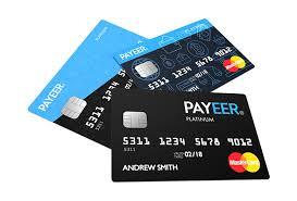 PayeerのMasterCardは今年いっぱいで終了・・・