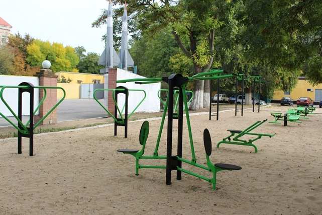 У Херсоні відкрито ще один спортивний майданчик