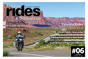 Favorite Rides & Destinations Fall 2018
