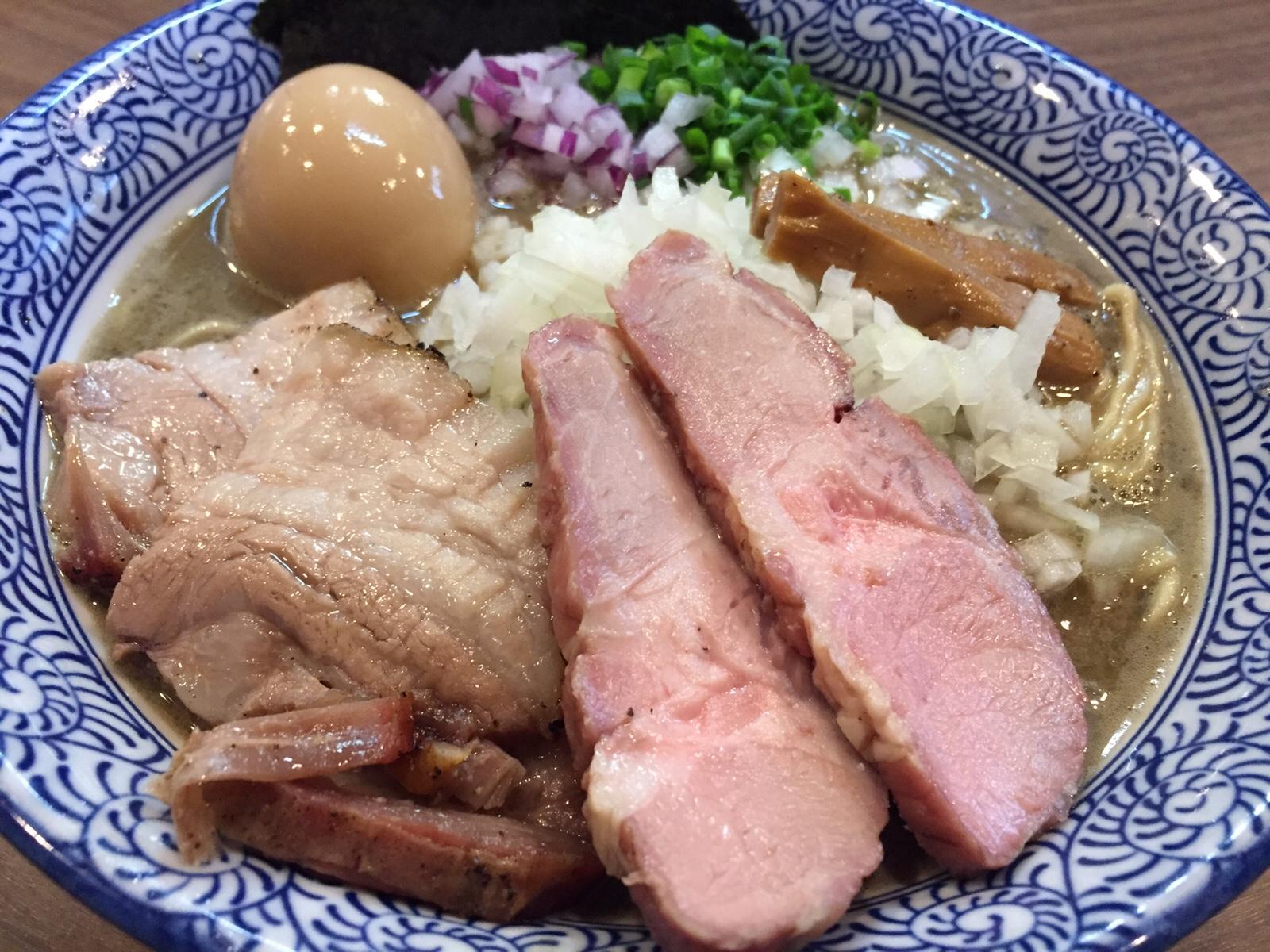 蒲田の人気店「煮干しつけ麺 宮元」再訪!煮干しそばも絶品!