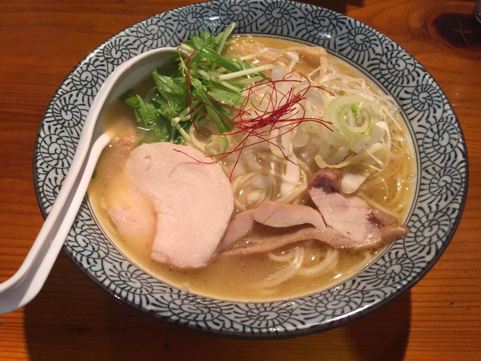 """とろウマ鶏白湯ラーメン、横浜関内でどーぞ!""""麺屋 武一""""関内店"""