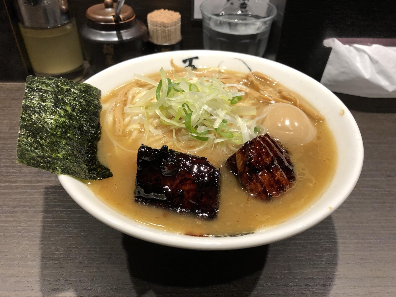 名店「麵屋武蔵」の新らー麺登場!田町「麺屋武蔵 五輪洞」