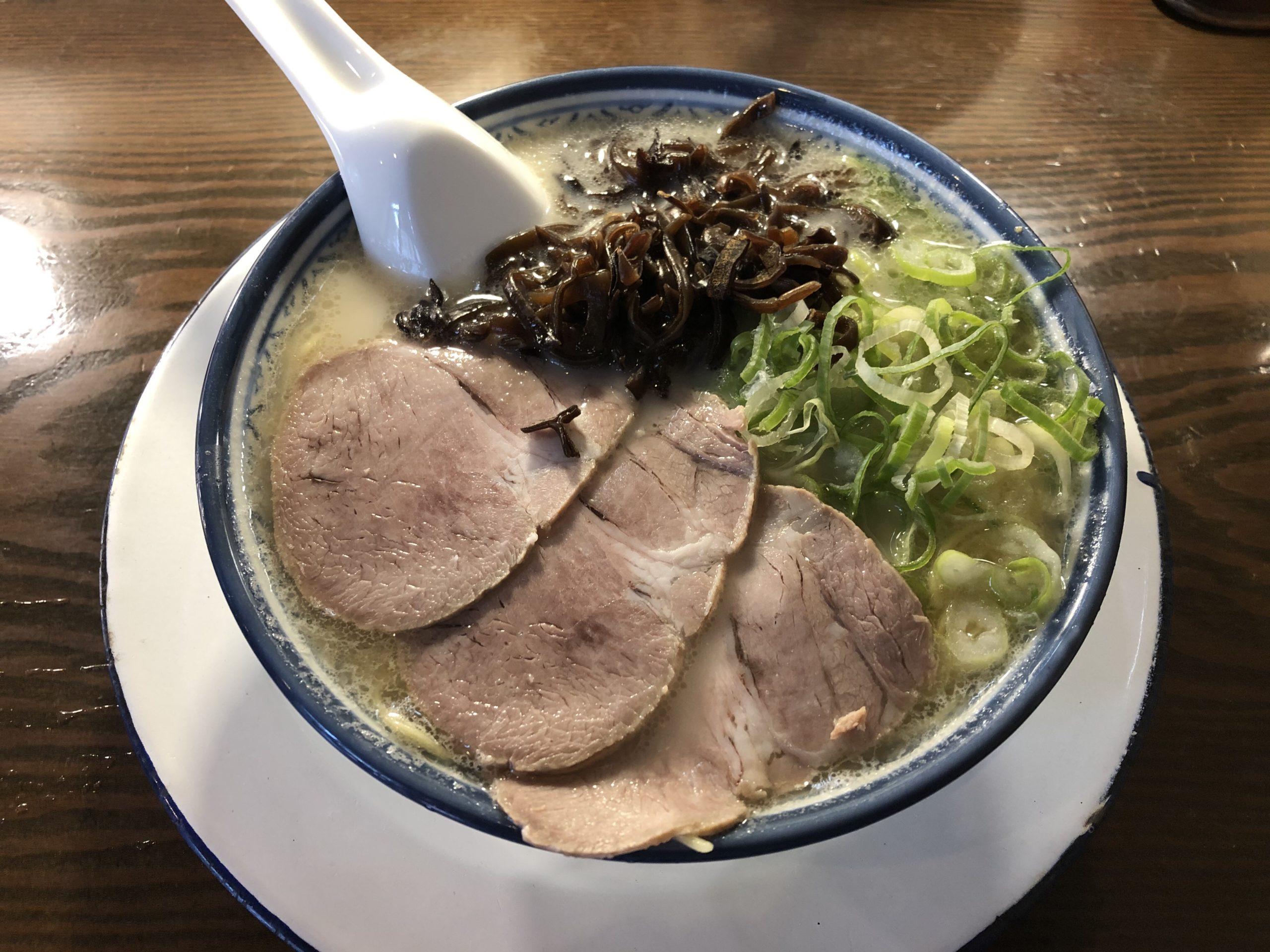日本橋・水天宮前で本場の博多ラーメン!「しばらく」日本橋店