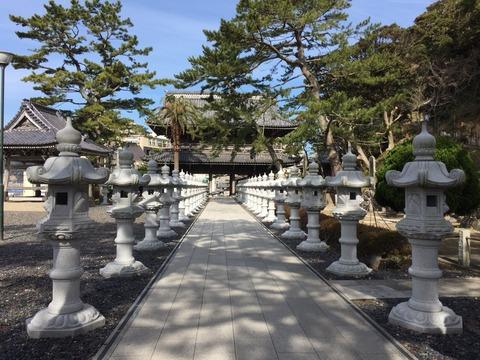 誕生800年祭が間近の「誕生寺」。絢爛豪華な仏教世界と美味しい鯛せんべいでパワー注入!?