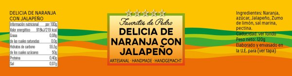 delicia jalapeño naranja - Delicia de Naranja con Jalapeño