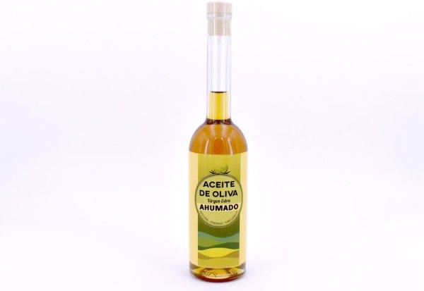 aceite ahumado - Aceite de Oliva Virgen Extra ahumado