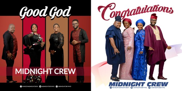 """Midnight Crew Celebrates 17th Year Anniversary With Double Release – """"Good God"""" & """"Congratulation""""  @Midnightcrewng"""