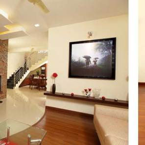 Villas in Njandoorkonam - Pebble Gardens Interiors