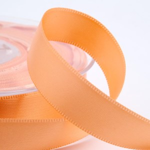 Peach Satin Ribbon