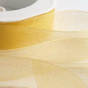 Gold Organza Ribbon