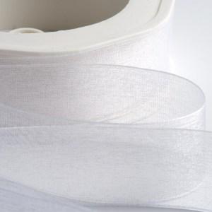 White Organza Ribbon