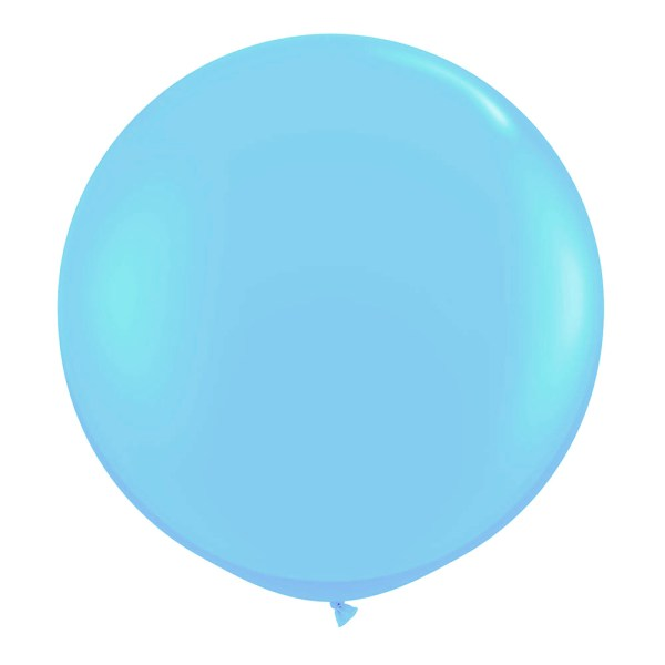 1 Metre Sky Blue Giant Balloons