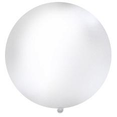 1 Metre White Giant Balloons