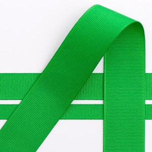 10mm Emerald Grosgrain Ribbon 10M