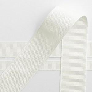 10mm Ivory Grosgrain Ribbon 10M
