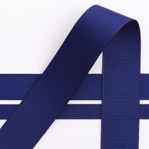 10mm Navy Grosgrain Ribbon 10M