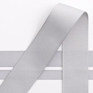 10mm Silver Grosgrain Ribbon 10M