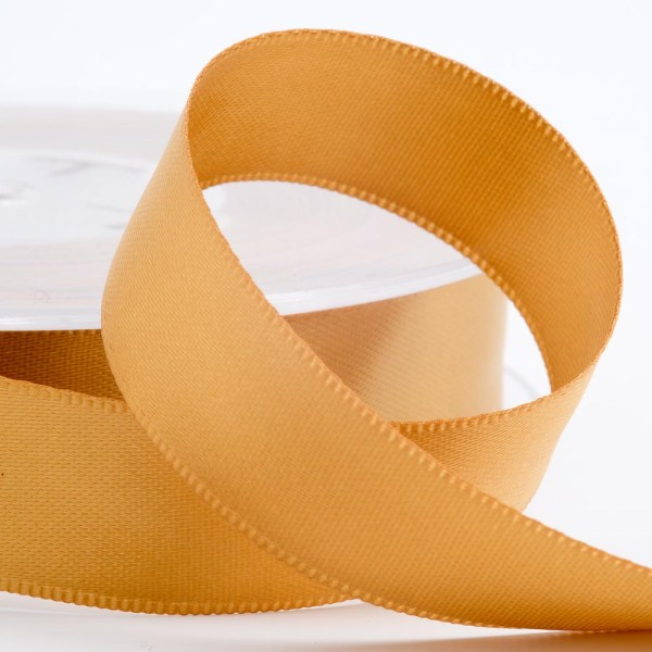 3mm Gold Satin Ribbon 50M