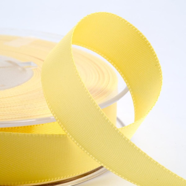 3mm Lemon Yellow Satin Ribbon 50M