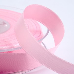 3mm Pale Pink Satin Ribbon 50M