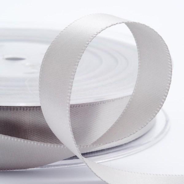 3mm Silver Satin Ribbon 50M