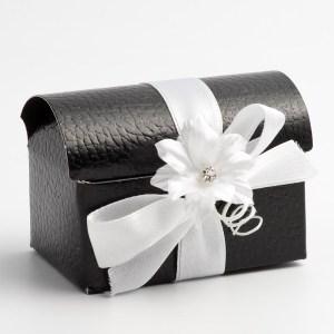 Black Pelle Cofanetto Favour Box