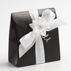 Black Pelle Sacchetto Favour Box