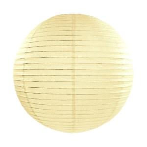 Cream Paper Lanterns 14inch