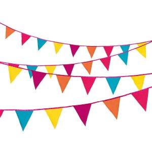 Fiesta Fabric Bunting