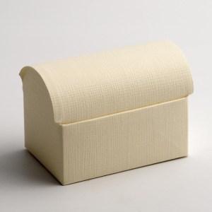 Ivory Silk Cofanetto Favour Box
