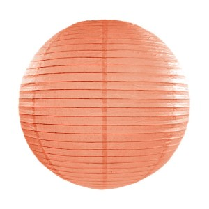 Light Orange Paper Lanterns 14inch