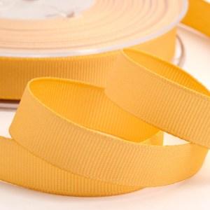 Pale Gold Grosgrain Ribbon 13mm x 20m