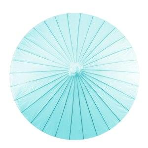 Paper Parasol - Aqua Blue