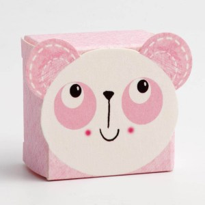 Pink Panda Favour Box - Small
