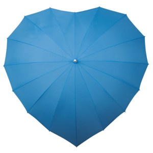 Heart Umbrellas - Sky Blue