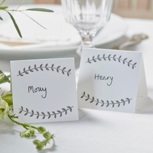 Vine Place Cards