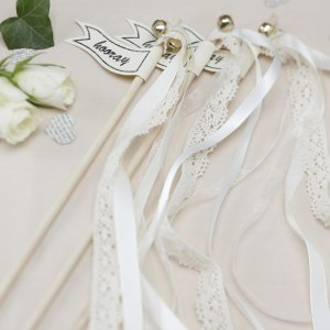 Vintage Wedding Wands