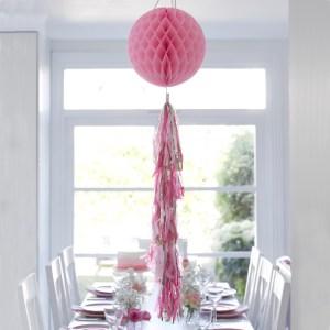 Pink Blush Tasseled Honeycomb