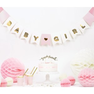 Baby Girl Banner Kit