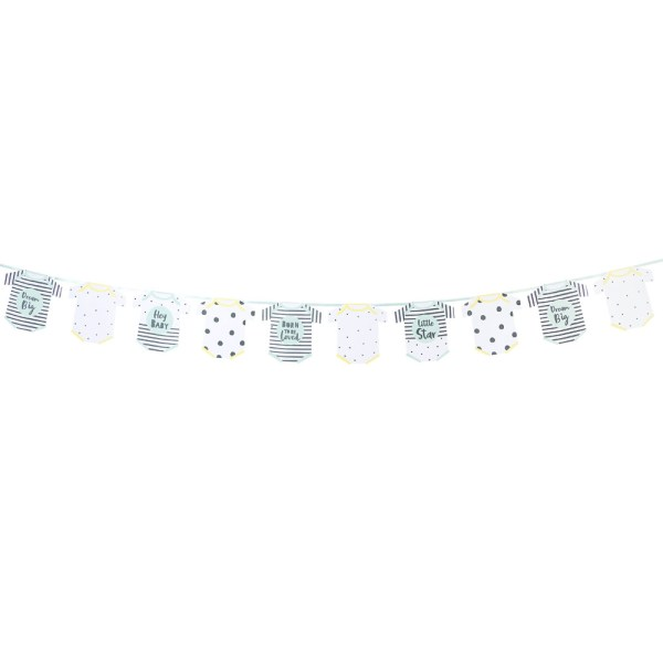 Born To Be Loved Baby Grow Bunting