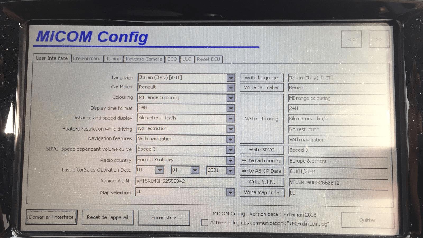 [GUIDA MN1] Attivazione retrocamera MN1 (senza tornare alla versione 4.0.3) e cambio schermata rapido