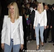 Supporting friend Stella McCartney at London Fashion Week 2009