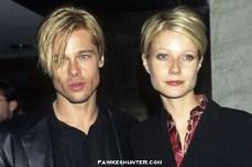 Twinsies Hairstyles with then Boyfriend Brad Pitt