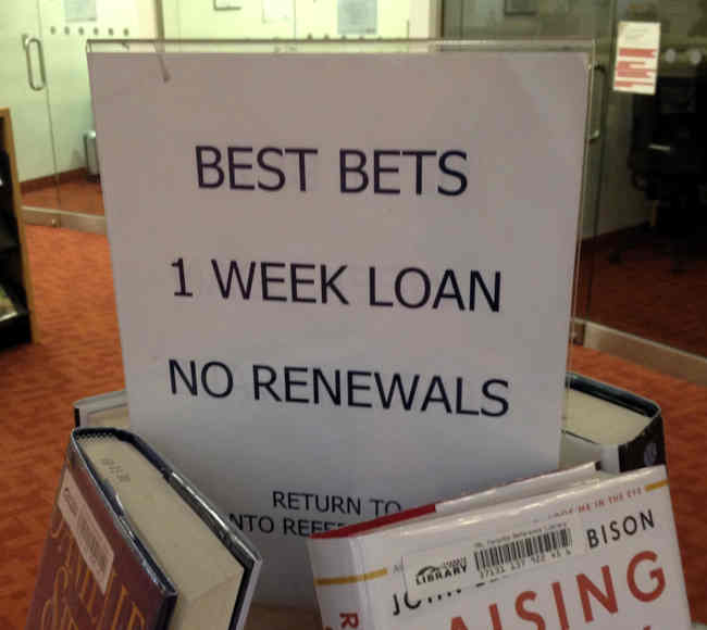 BEST BETS 1 WEEK LOAN NO RENEWALS