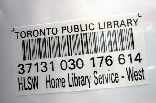 Home Library Service – West barcode